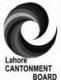 Qaiser Mehmood, Lahore Cantonment Board (ML&C)